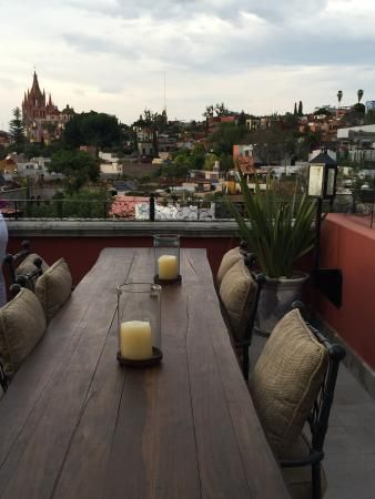 Rosewood San Miguel De Allende View From Luna Rooftop Bar