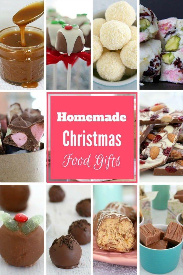 Homemade Christmas Food Gifts Food gifts, Homemade and Easy