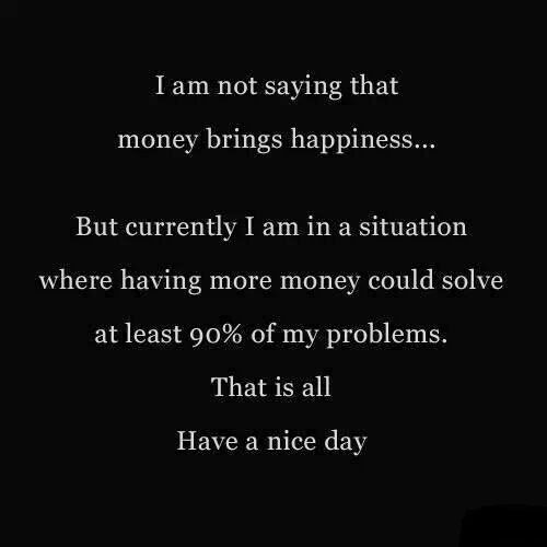 does money bring happiness study