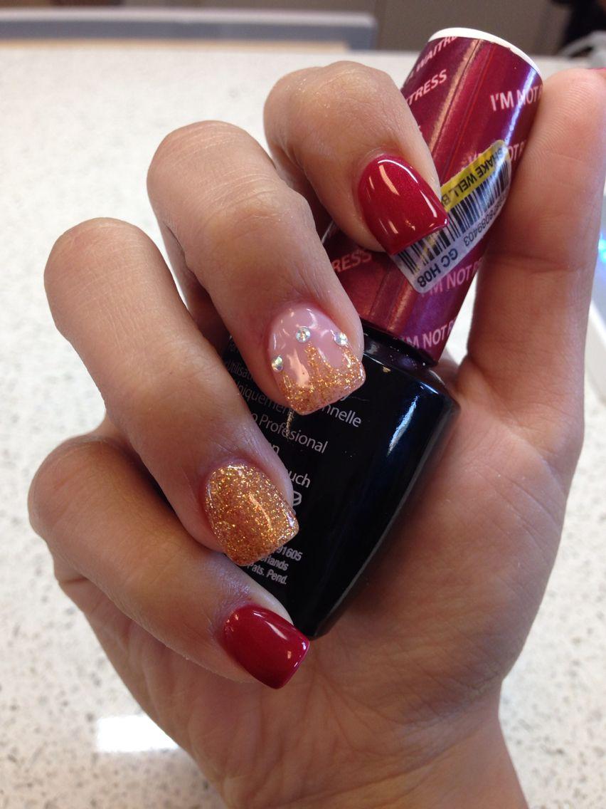 beauty and the beast (princess belle) nails   Hair, make up, nails ...