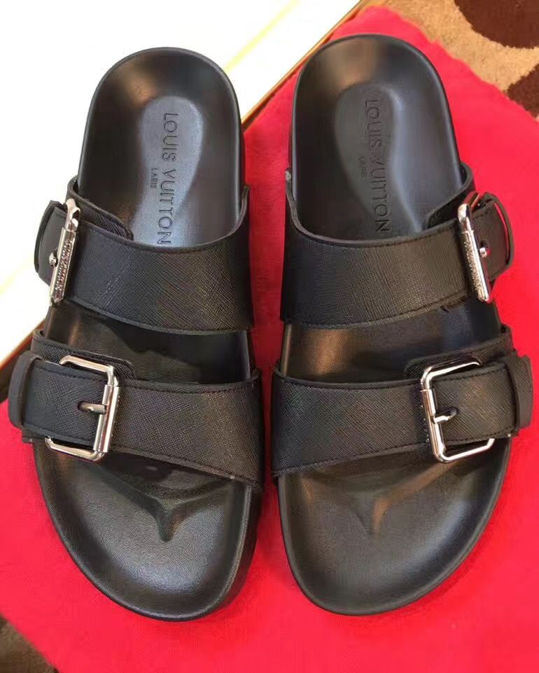 7e00b74ebfe79 Louis vuitton mens sandals,LV男士拖鞋