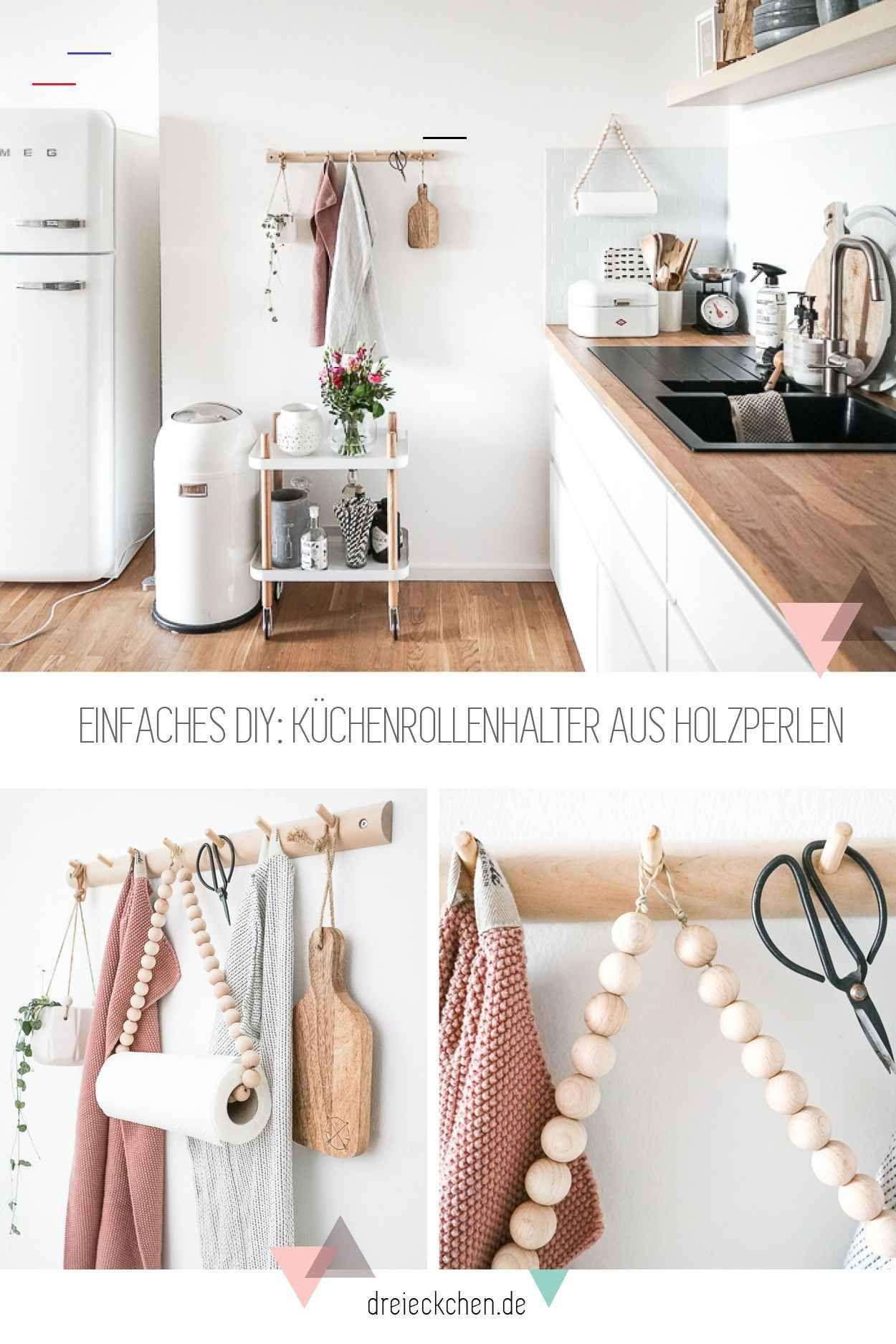 Ordnung In Der Ikea Kuche Ikeakeuken Schnell Und Super Einfach Umgesetzt Wie Ihr Diese Schonen Kuchenutensilien Selbst Aus Holzkugeln Un