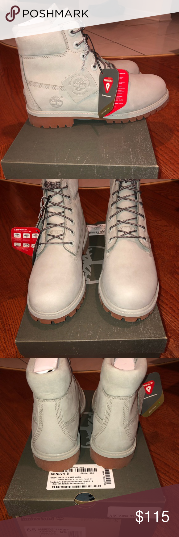 bac01d9976d Timberland 6 Inch Premium Boots NWT BRAND NEW IN BOX Size 6 Juniors ...