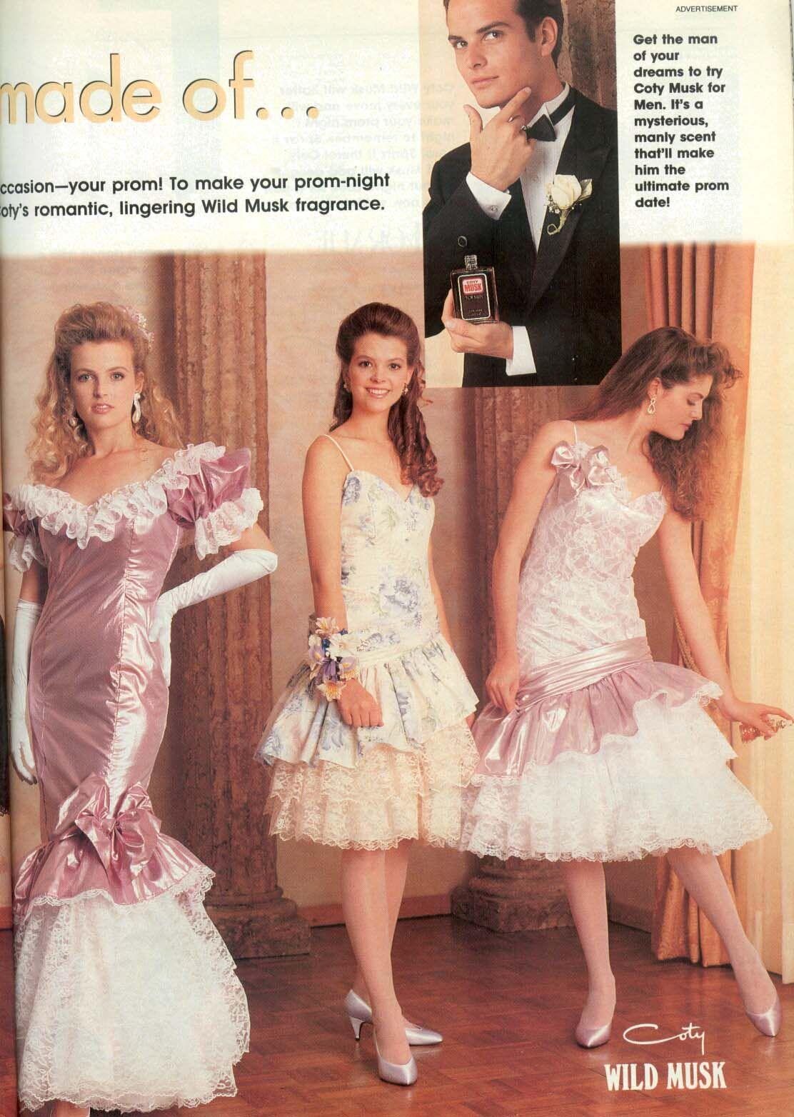 1990 Prom Dresses