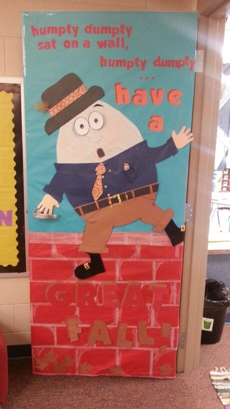 My Creative Fall Classroom Door Design For Our School Devorsting