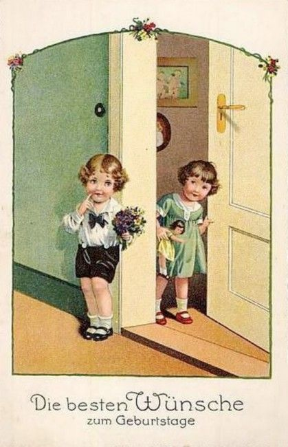 Pauli Ebner (1873-1949) — Old Post Cards (419x650)