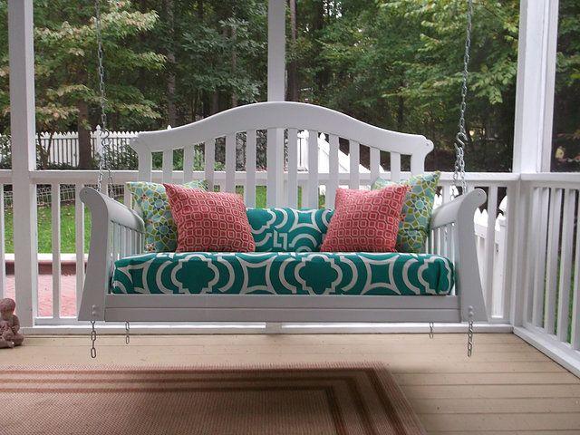 Kmayzingswings Swings Meme Porch Swing Old Cribs Porch