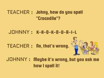 Do You Know The Meaning Of Wife Teacher Jokes Funny Conversations Funny Quotes