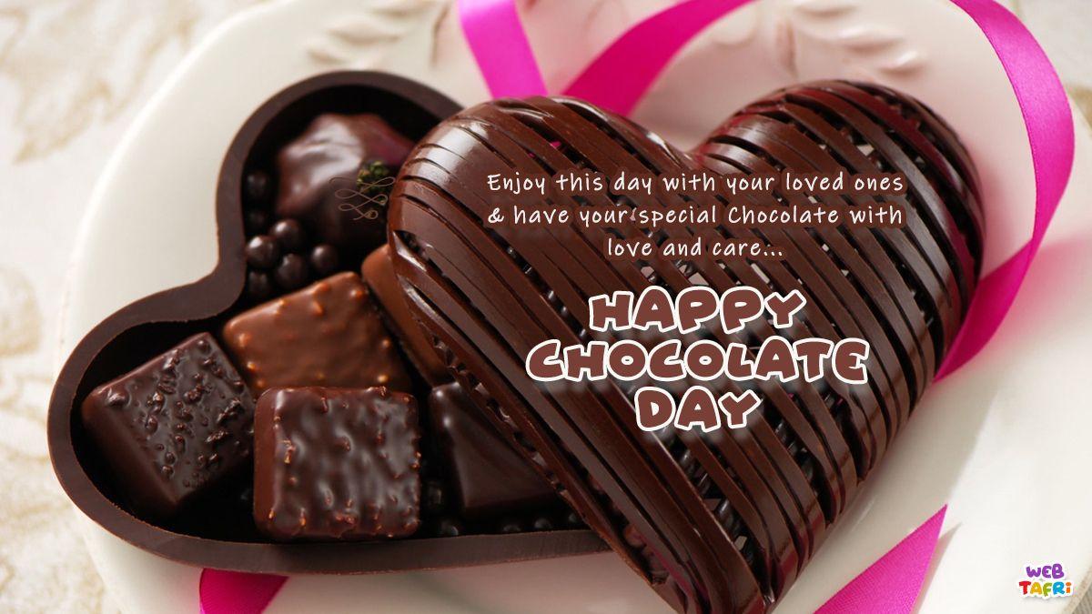 Happy Chocolate Day In 2021 Happy Chocolate Day Chocolate Day Images Chocolate Day