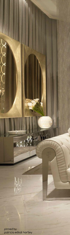 Une pièce à vivre de luxe design d\u0027intérieur, décoration, maison