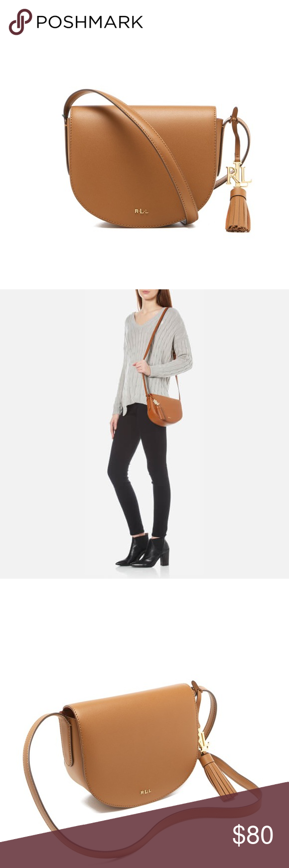 R A L P H L A U R E N Dryden Caley Saddle Bag Women s mini messenger bag  from Lauren Ralph Lauren. Crafted from 1bfed03230bfb