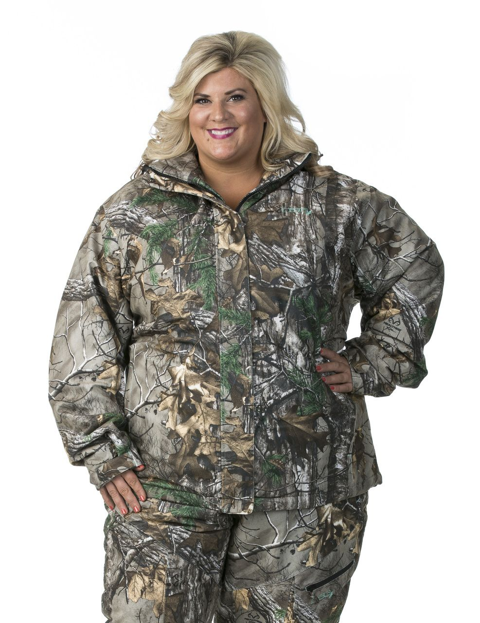 4dd550241a7 Struggle to find plus size Hunting apparel for women   Not any longer! DSG  Outerwear offers up to size 5XL! Addie Hunting Jacket in Realtree Xtra Camo