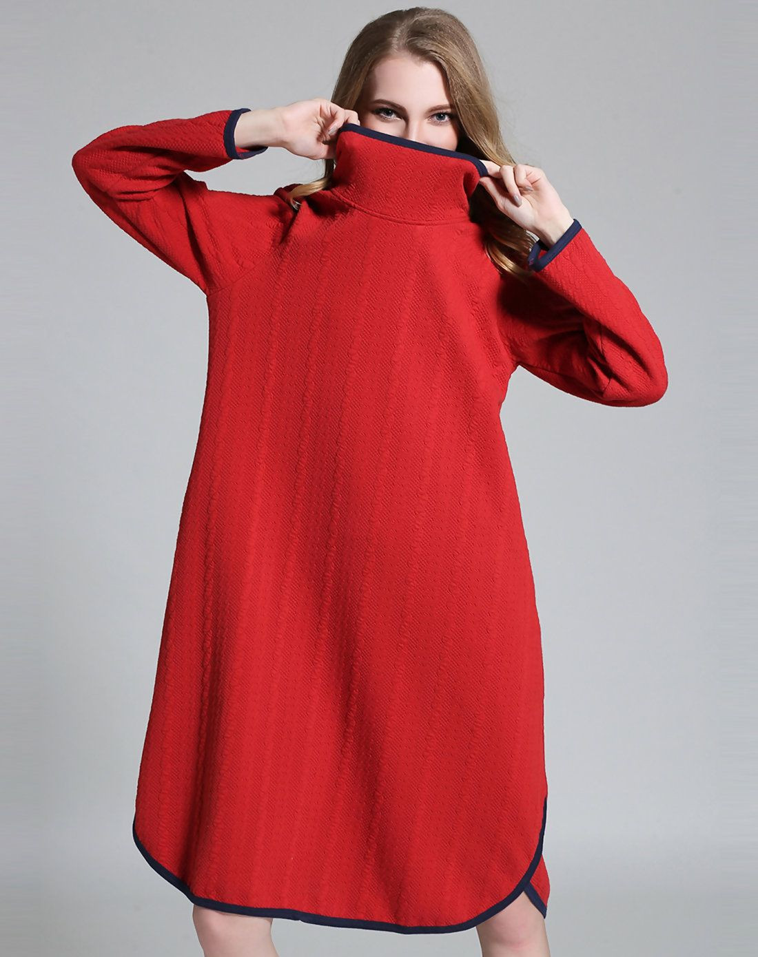 Adorewe vipme aline dresses jianruyi red long sleeve embossed