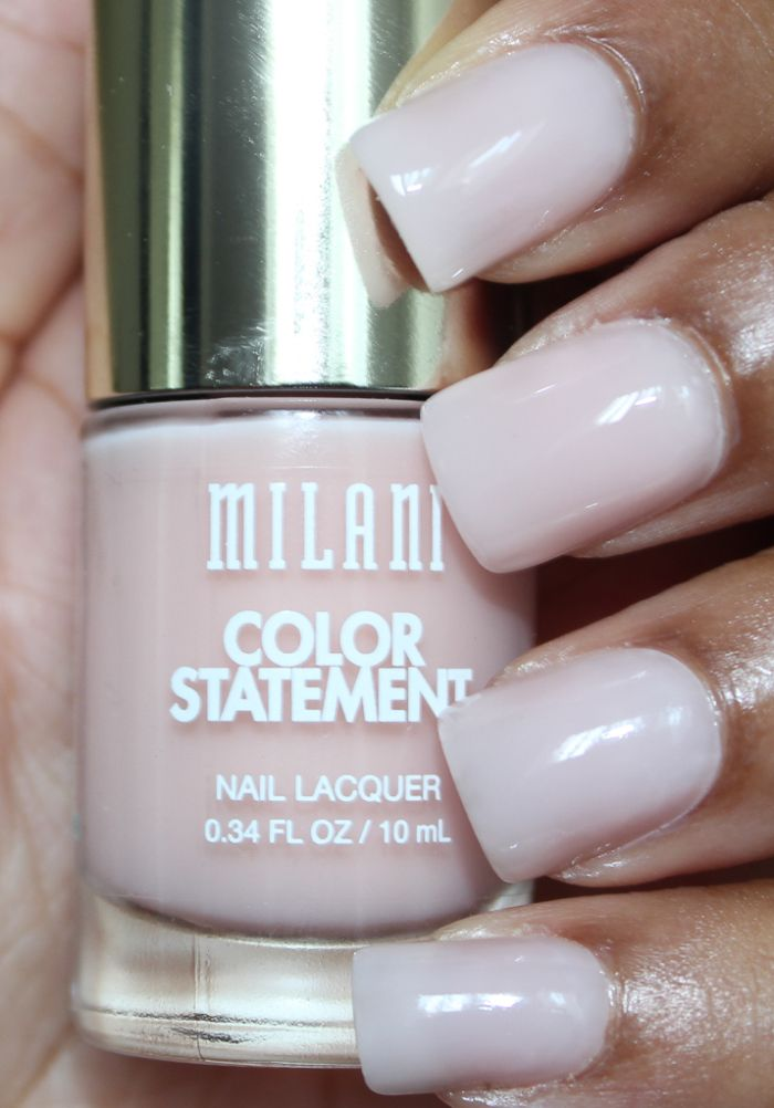 milani vintage lace Milani Color Statement Nail Lacquer Swatches ...