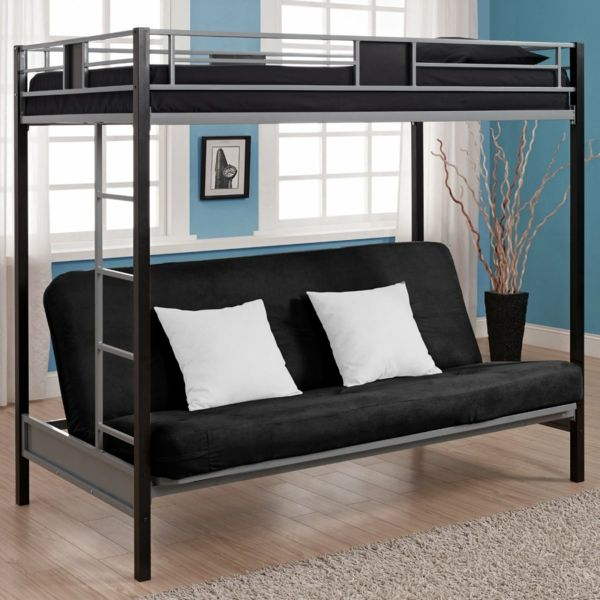 hochbett f r erwachsene herausforderung oder praktische einrichtung wohnen pinterest. Black Bedroom Furniture Sets. Home Design Ideas