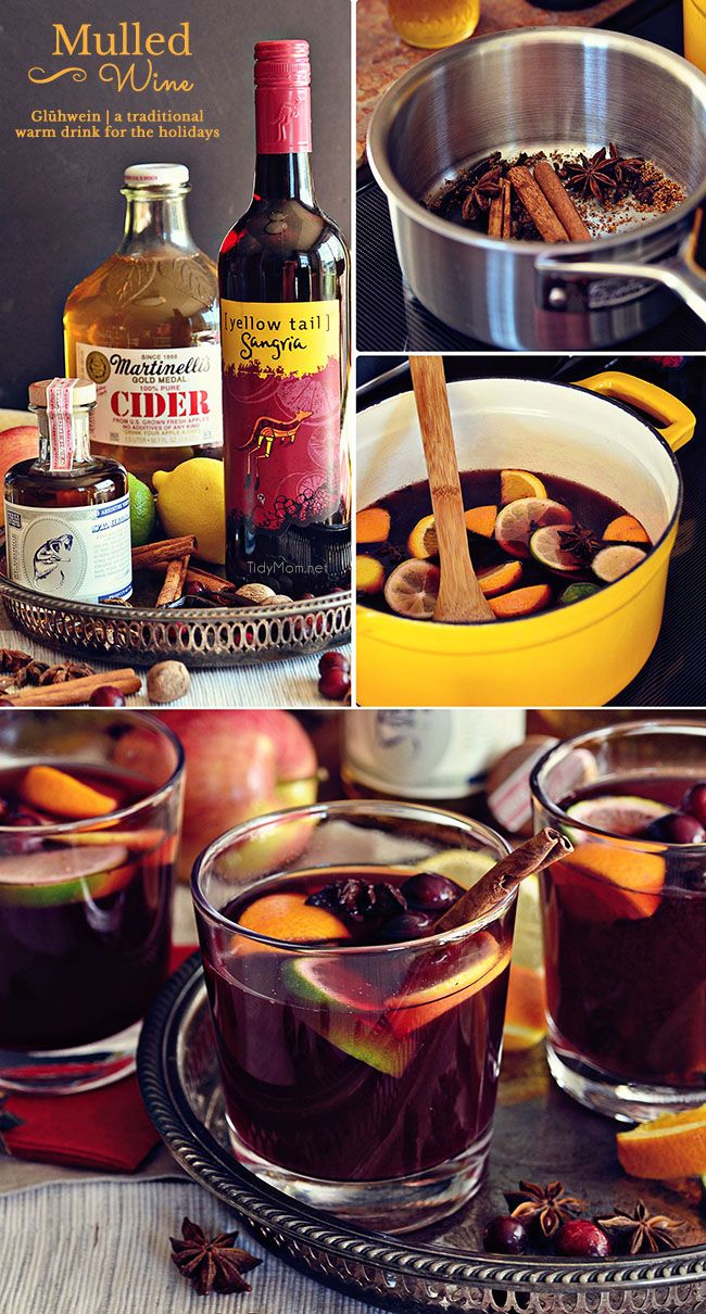 Mulled Wine | Recipe | Mulled wine, Holiday punch recipe and ...