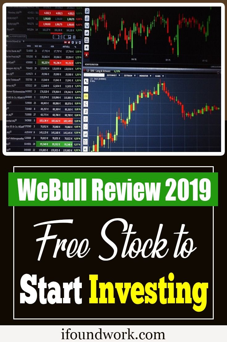WeBull Review 2019 Free Stock to Start Investing Start