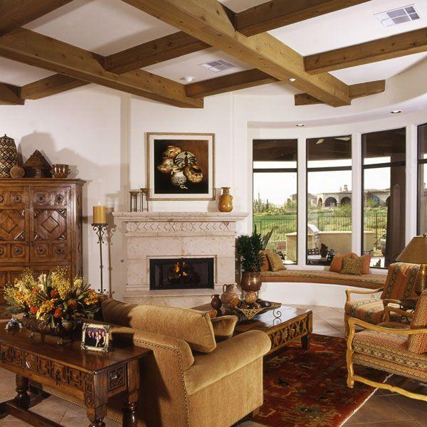 Arizona Hacienda Kitchen Cabinets: Stunning AZ Home In Spanish Colonial Style