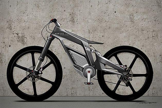 An Audi bike? Yes please!