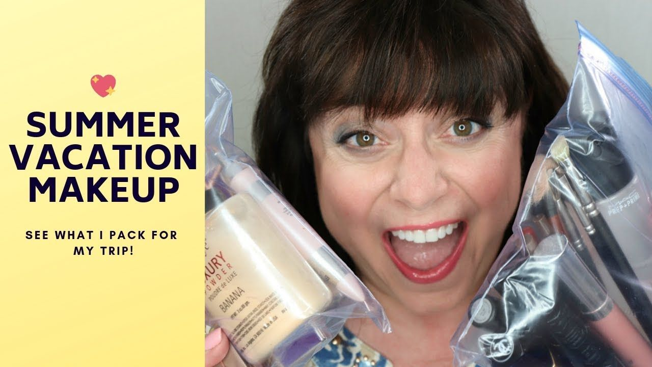 Find Out What Makeup I Take With Me On Summer Vacation