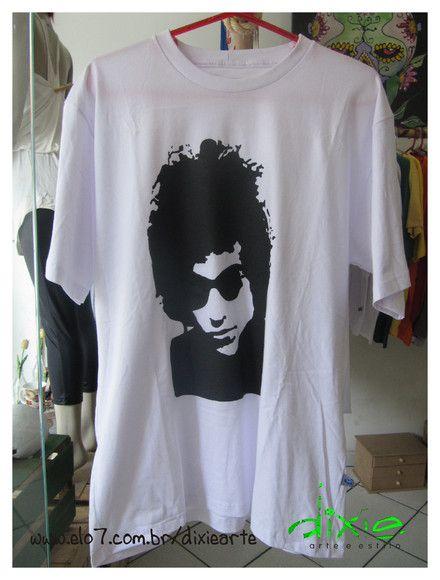 Camiseta Masculina Bob Dylan 100% algodão Temos a pronta entrega no tamanho M Demais tamanhos, sob encomenda. R$49,00