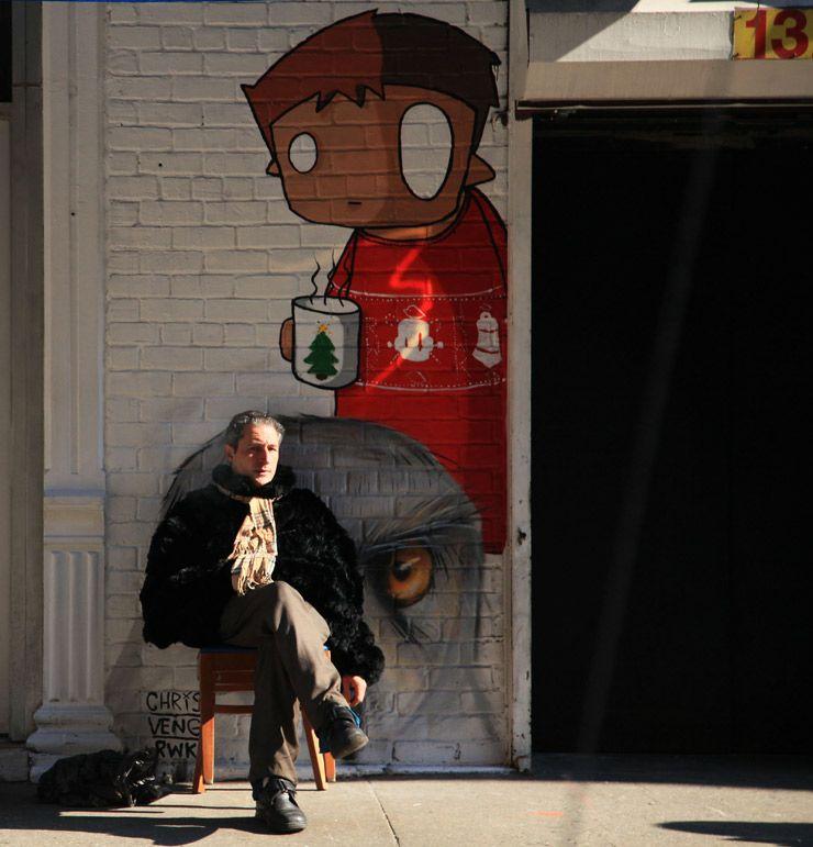 Brooklynstreetartchrisvengrwkjaimerojoweb - 17 amazing works of 3d street art