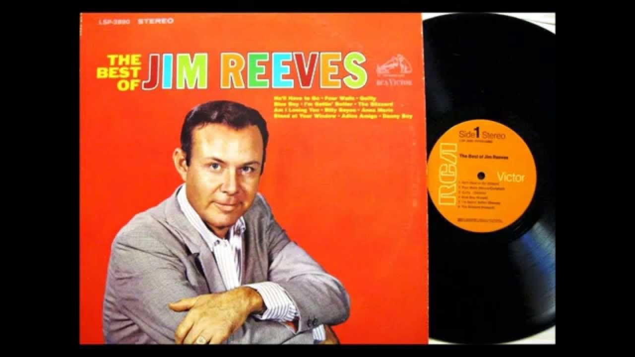 Danny Boy Jim Reeves 1961 Vinyl Jim Reeves Bluegrass Music Music