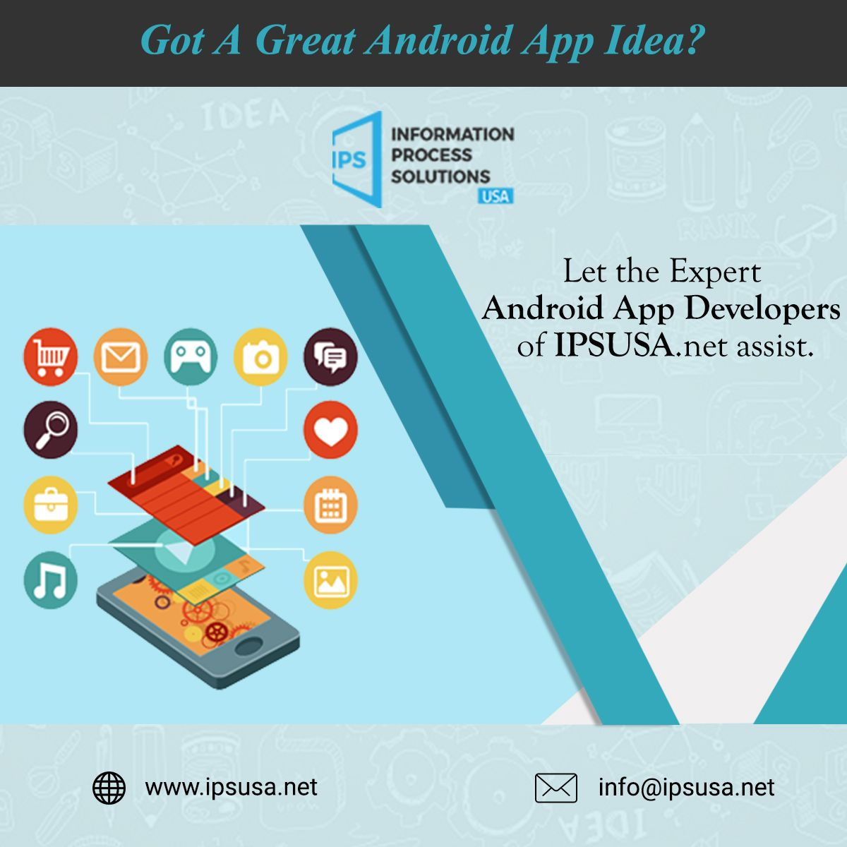 Hire Expert Android App Development Team that can
