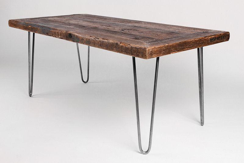 Couchtische Tisch H120 Auf Hairpin Legs Ein Designerstuck Von