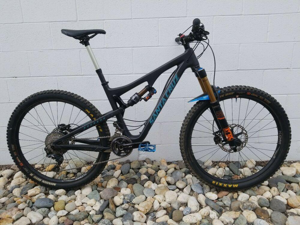 Santa Cruz Bronson 2017 >> 2017 Medium Santa Cruz Bronson Cc V2 Carbon Mountain Bike