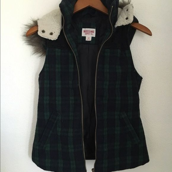 Black watch plaid vest Still not sure if I want to trade or sell, would have to be something I really want! Jackets & Coats Vests