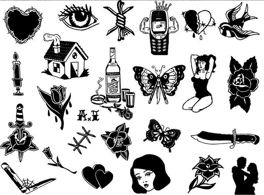 Sketches By Igor Arkhipov Russian Handpoke Tattoo Artist Tags Black And White Tattoo Homemade Tatt Homemade Tattoos Old School Tattoo Designs Black Tattoos