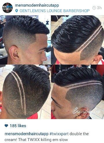 twixx part men's haircut fade