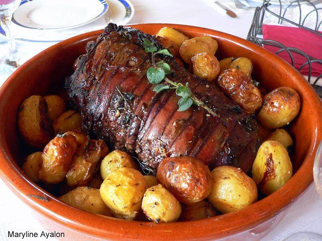 Ma Blogeria: ~~ צלי כתף בתנור עם תפוחי אדמה ~~