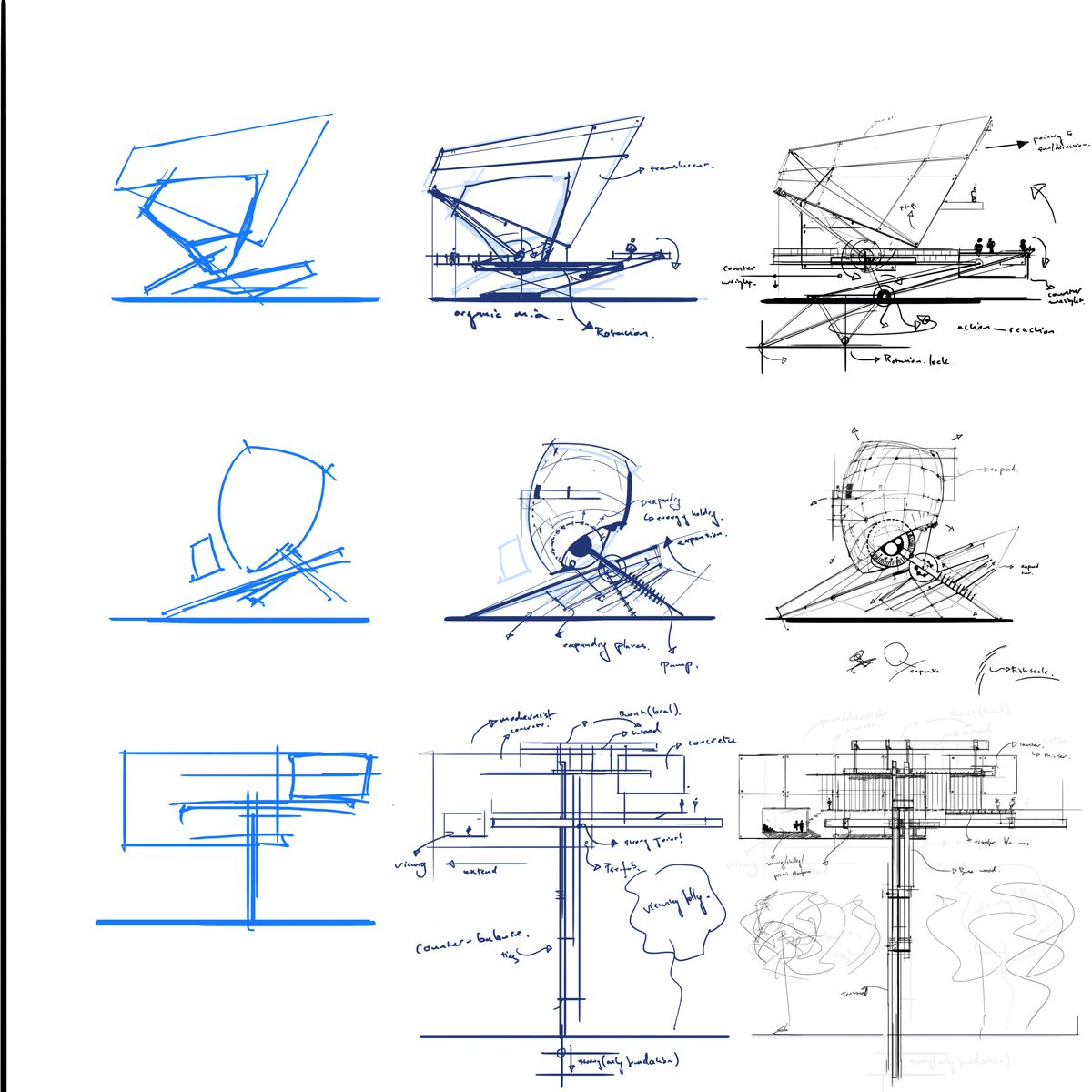 Architectural Concept Ideas Starting With Basic Shapes ??