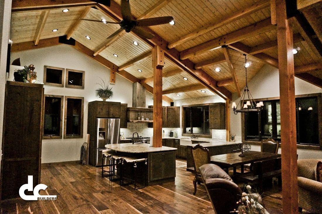 Custom Timber Frame Barn Home In Newnan Georgia Dc