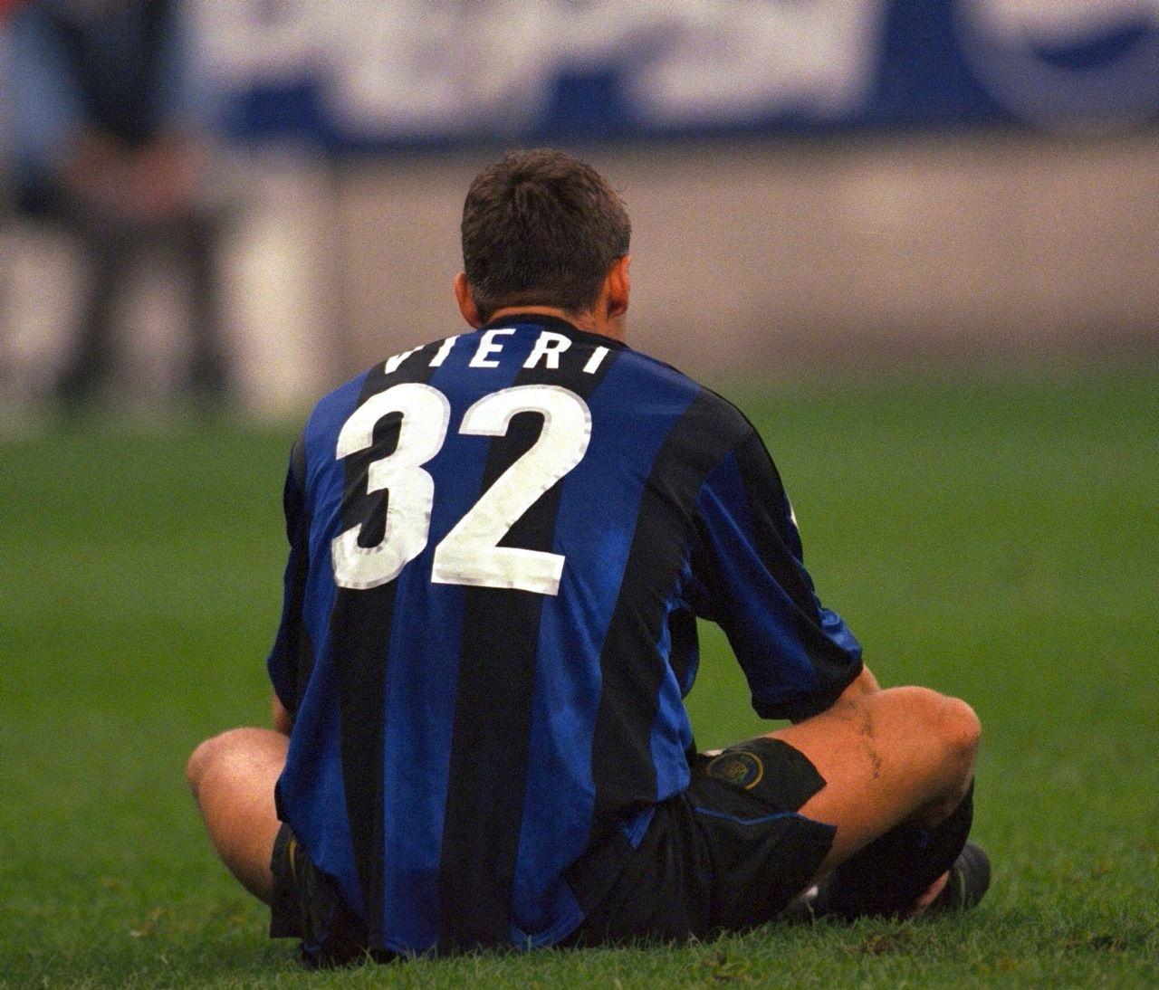 Christian Vieri Soccer Legends Pinterest