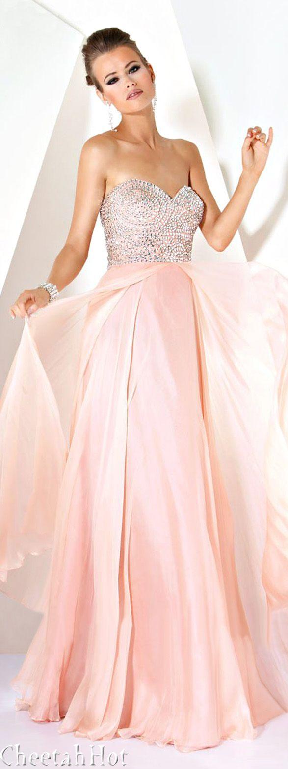 JOVANI - Sweet Blush Gown | Fashion | Pinterest | Vestiditos ...