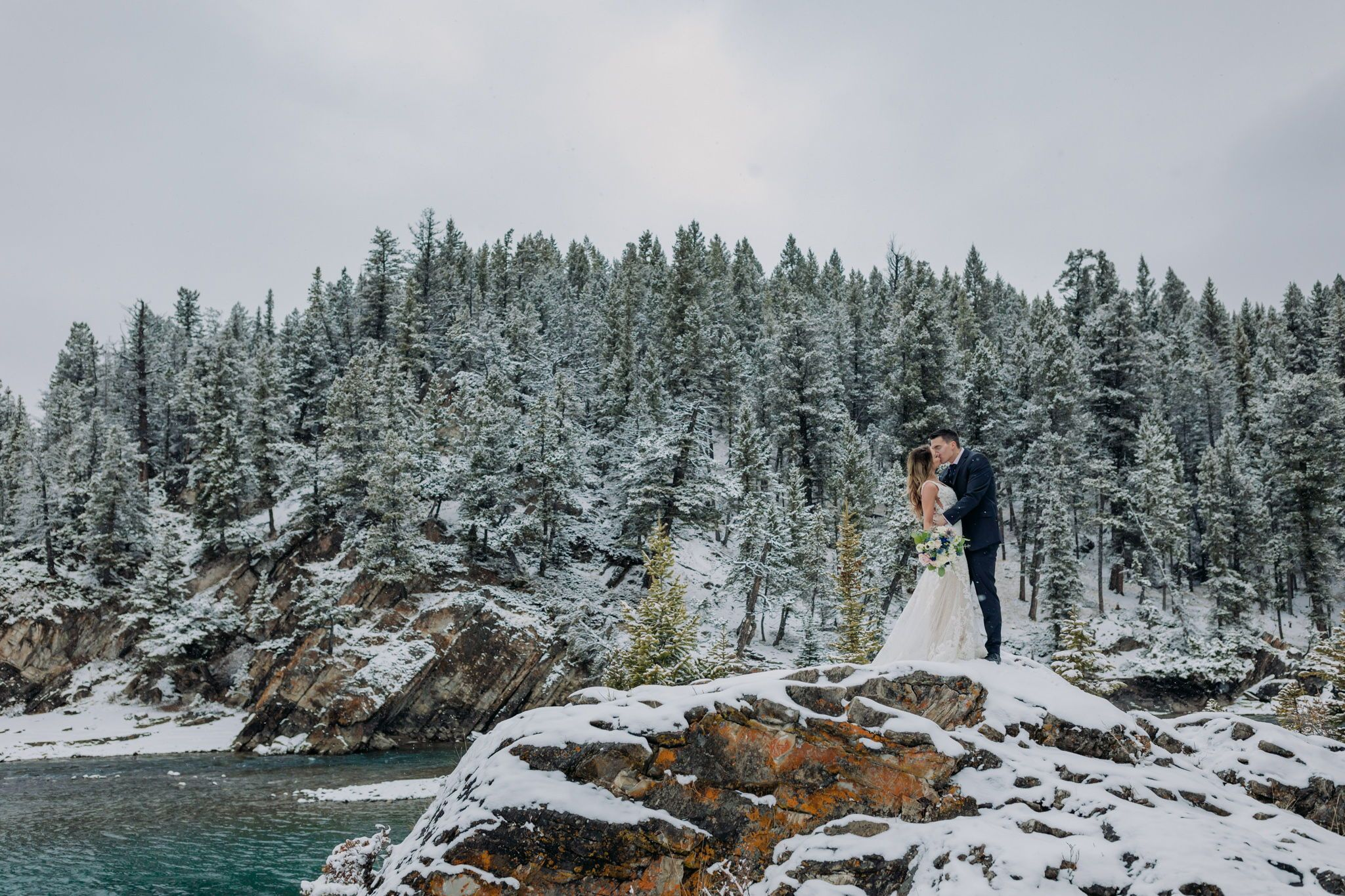 How to Get Married in 2020: Elope Now & Party Later! Plan a stress-free elopement in Banff