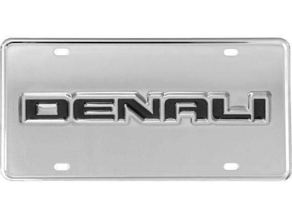 Truck Hardware Gatorgear License Plate Gmc Denali Gmc
