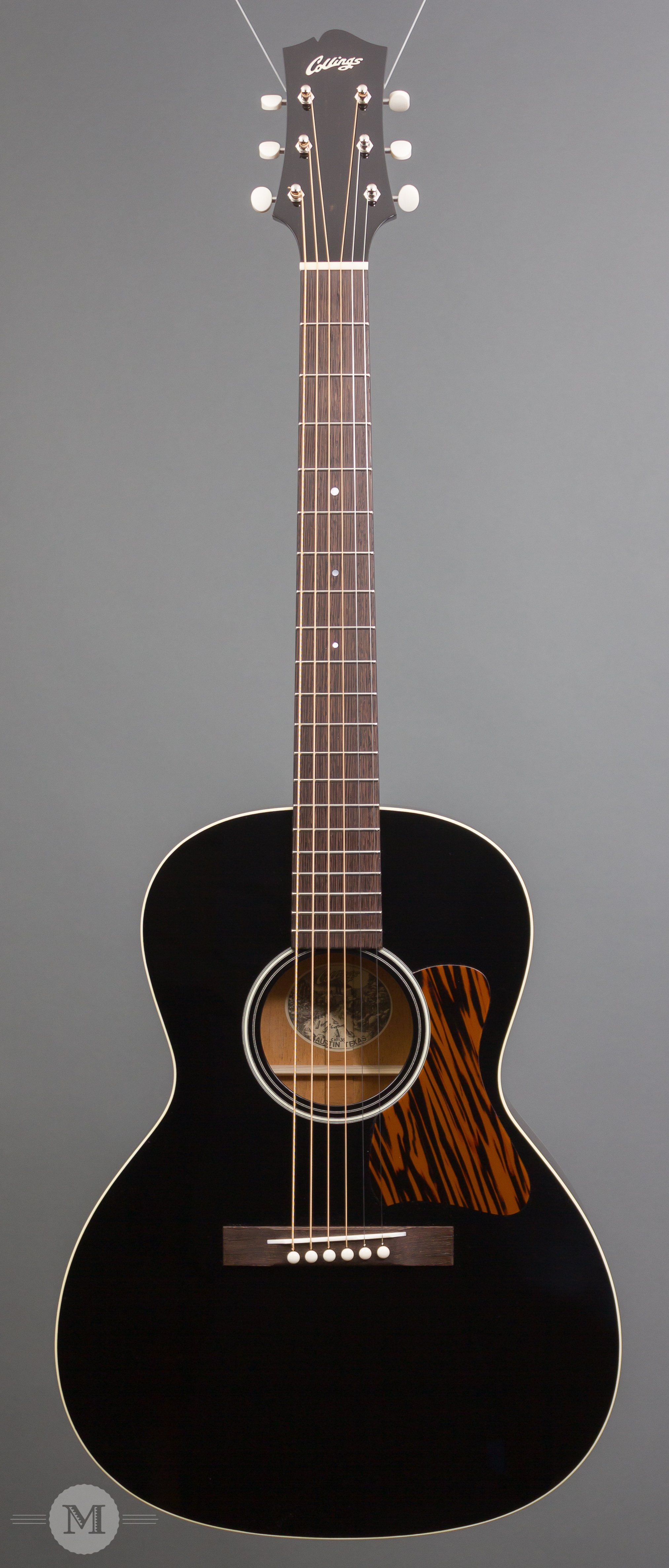 Collings Acoustic Guitars C10 35 Jet Black Top