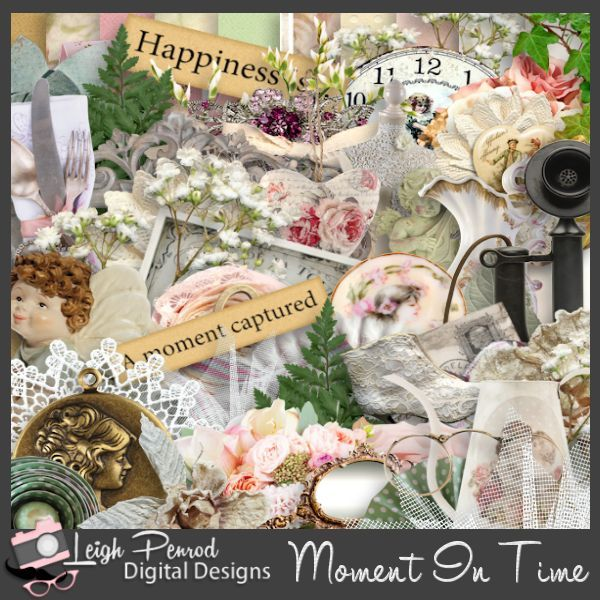Moment In Time Digital Page Kit
