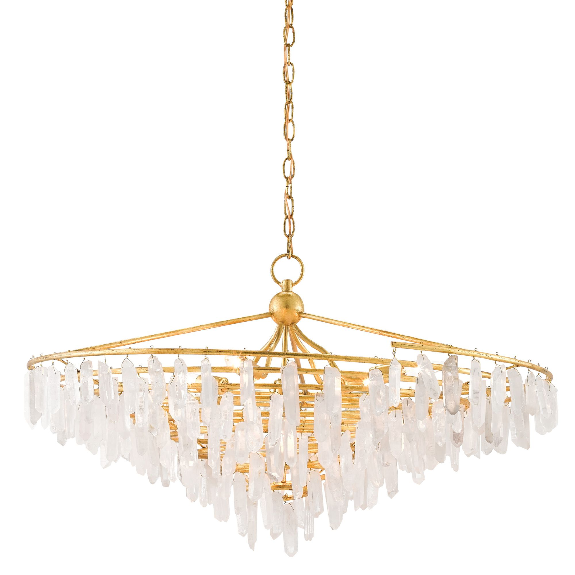 Tempest Chandelier - Currey And Company At Lightology