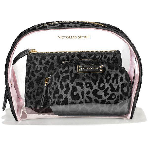 8b4ff4806ce3 Victorias Secret Cosmetic Bag Trio (630.225 IDR) ❤ liked on ...