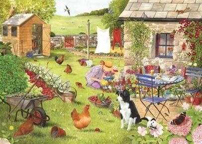 The Grange Collection: Grandma's Garden (500 stukjes) - De…