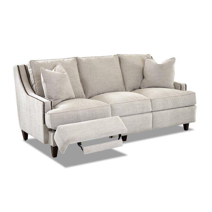 Tricia Reclining 83 Quot Recessed Arm Sofa Reclining Sofa Living Room Reclining Sofa Sofa