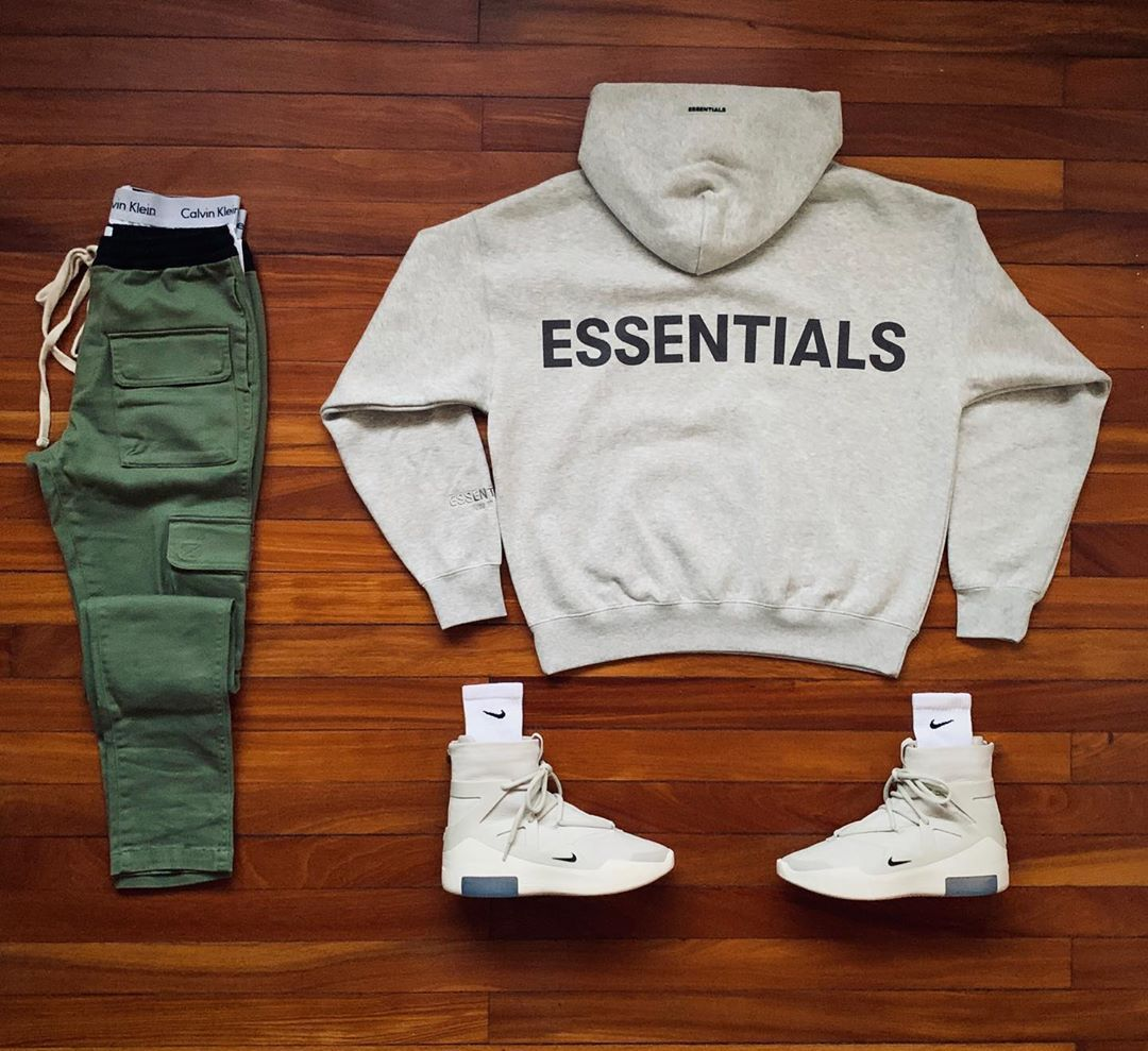 "Tico Sneakerhead on Instagram: ""Outfit Grid #2 _ � @essentials _ � @calvinklein _ � @pacsun _ � @nike x @fearofgod . . . . . . . . @justunboxed @blkvis @hypebeast…"""
