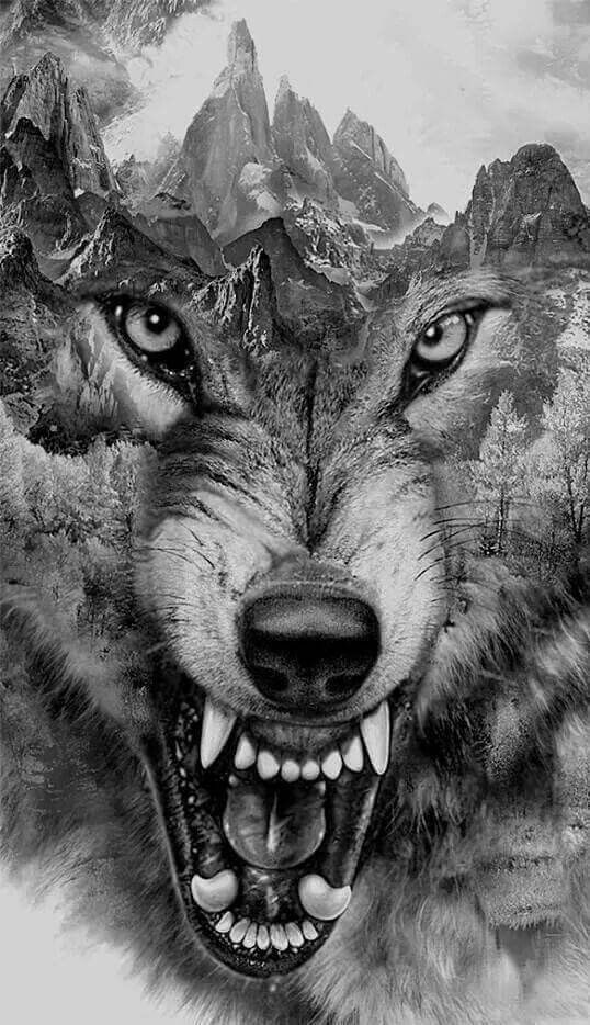 pin von kim king hall auf wolves buffalo native americans pinterest tattoo ideen wolf und. Black Bedroom Furniture Sets. Home Design Ideas