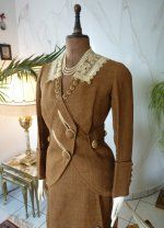 3 antique walking dress 1912