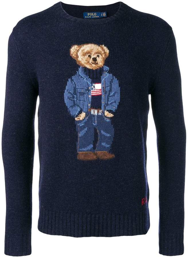 395bbf6a Polo Ralph Lauren Teddy Bear Knitted Jumper | Polo | Polo ralph ...